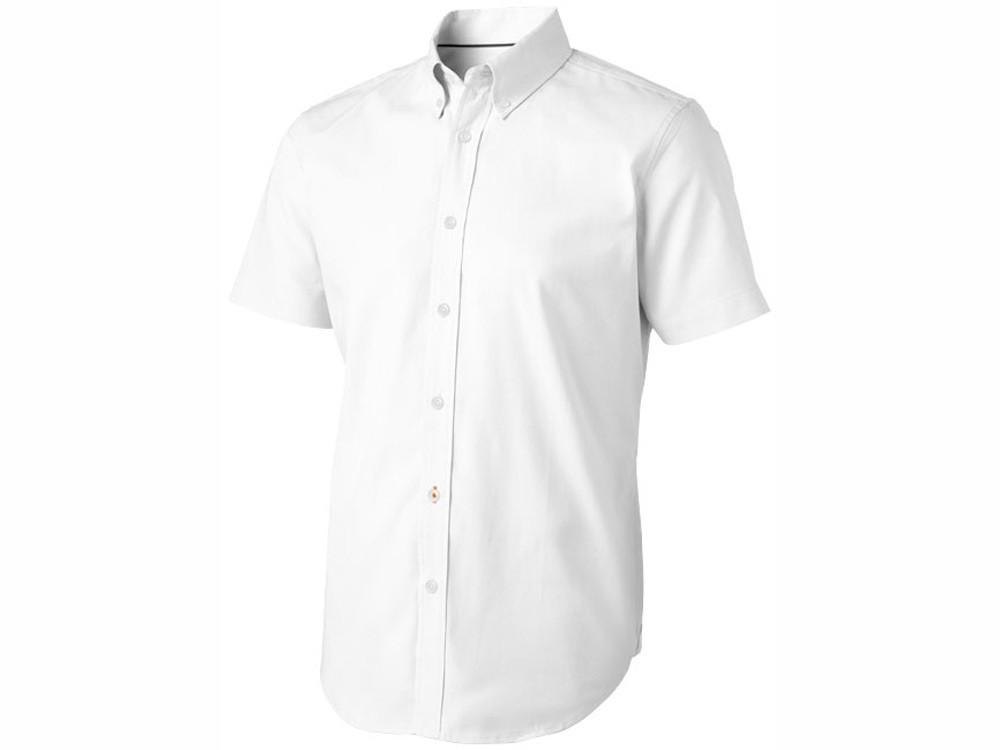 Рубашка Manitoba мужская с коротким рукавом, белый (артикул 3816001XS)