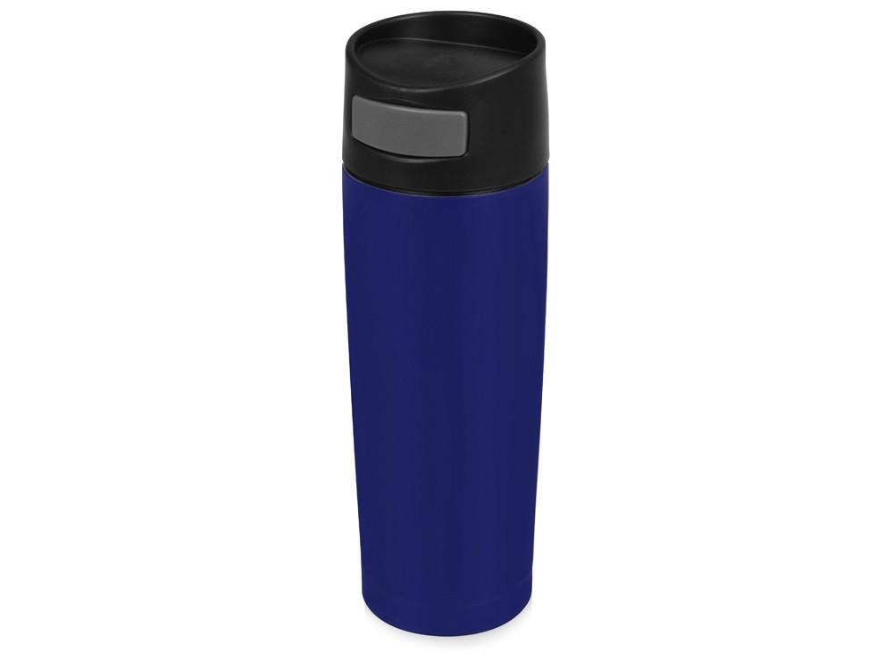 Термокружка Вакуум 450мл, синий (артикул 820202)