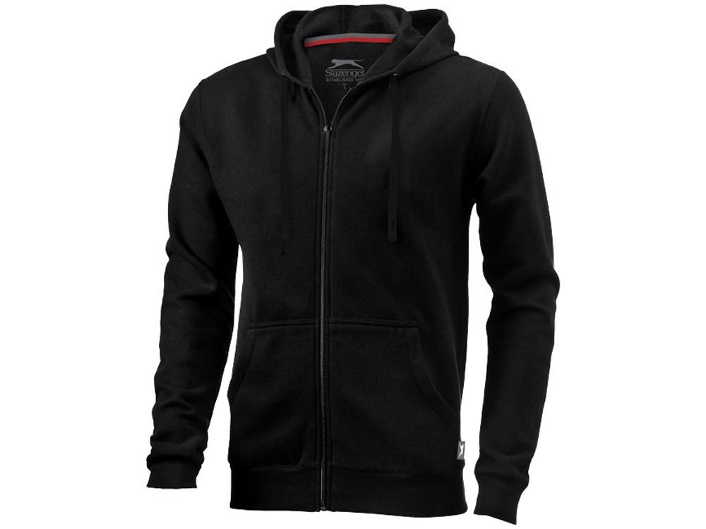 Толстовка Open мужская с капюшоном, черный (артикул 33240992XL)