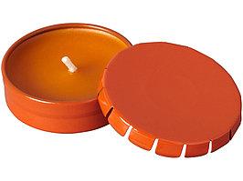 Свеча Bova в жестяной баночке, оранжевый (артикул 12612004)