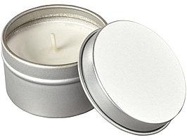 Свеча в жестяной банке Luva, серебристый (артикул 12612100)