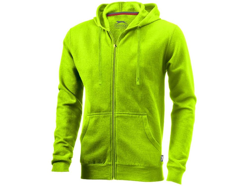 Толстовка Open мужская с капюшоном, зеленое яблоко (артикул 3324068L)