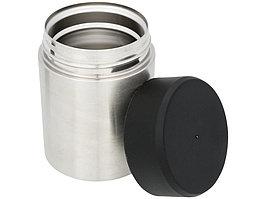 Пищевой контейнер Food, серебристый/черный (артикул 11293500)
