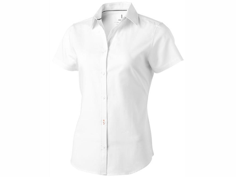 Рубашка Manitoba женская с коротким рукавом, белый (артикул 38161012XL)