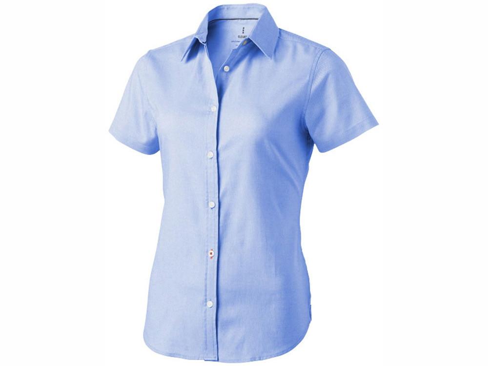 Рубашка Manitoba женская с коротким рукавом, голубой (артикул 3816140M)