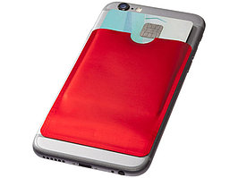 Бумажник для карт с RFID-чипом для смартфона, красный (артикул 13424602)