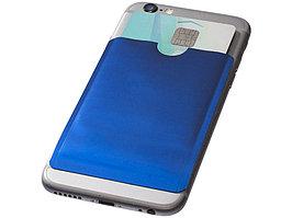 Бумажник для карт с RFID-чипом для смартфона, ярко-синий (артикул 13424603)