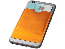 Бумажник для карт с RFID-чипом для смартфона, оранжевый (артикул 13424605)