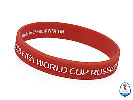Браслет 2018 FIFA World Cup Russia™, красный (артикул 2018108)