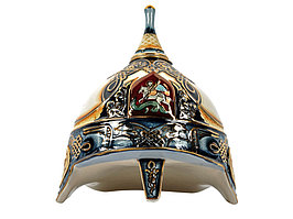 Штоф Шлем (цветной с золотом), 3л (артикул 61734)