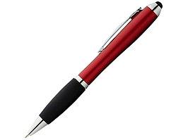 Ручка-стилус шариковая Nash со стилусом, красный, черные чернила (артикул 10639203)
