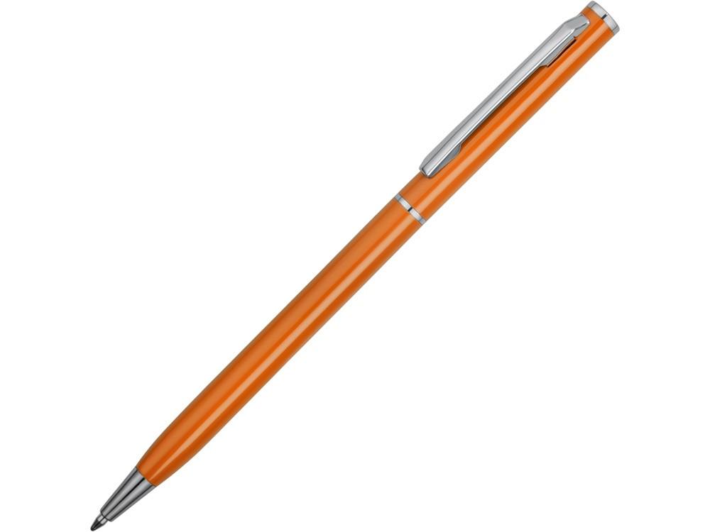 Ручка металлическая шариковая Атриум, оранжевый (артикул 77480.08)