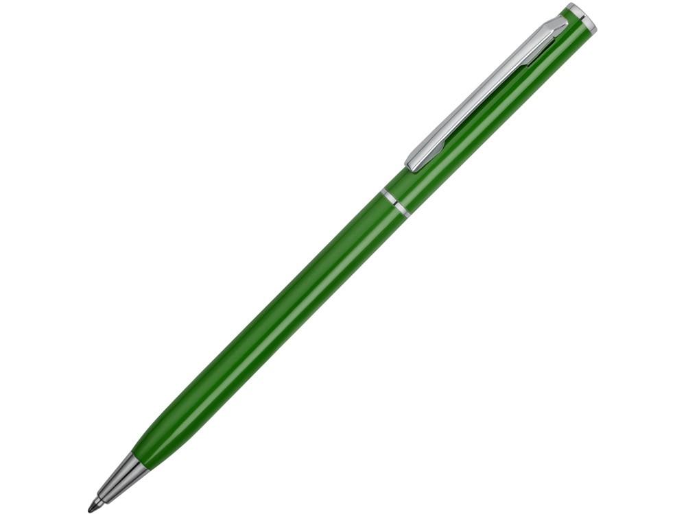 Ручка металлическая шариковая Атриум, зеленый (артикул 77480.23)