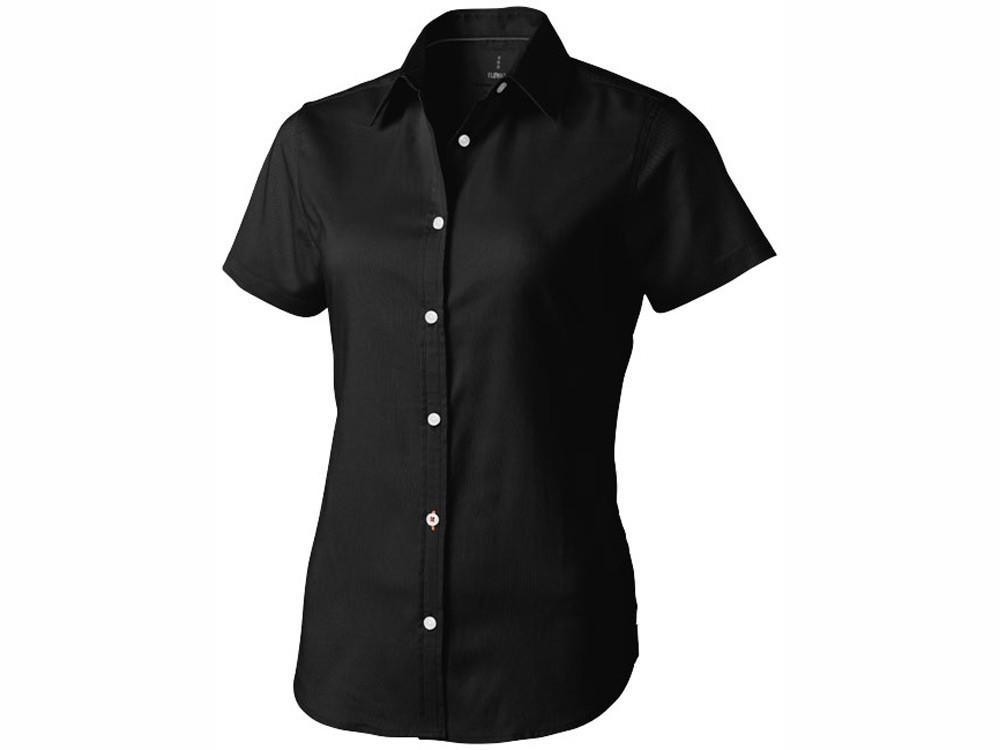 Рубашка Manitoba женская с коротким рукавом, черный (артикул 38161992XL)