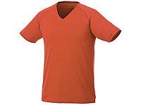 Модная мужская футболка Amery с коротким рукавом и V-образным вырезом, оранжевый (артикул 3902533XS), фото 1