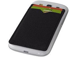 Бумажник RFID с двумя отделениями, черный (артикул 13425700)