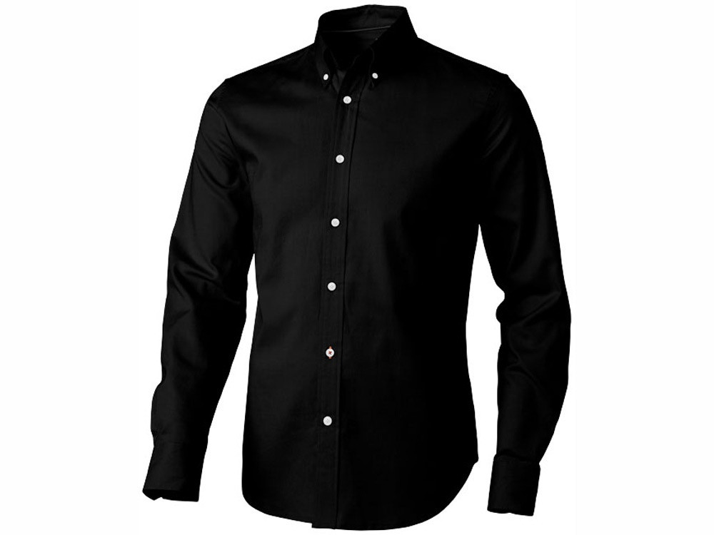 Рубашка Vaillant мужская с длинным рукавом, черный (артикул 3816299M)