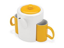 Набор: чайник, 2 чашки (артикул 823204)