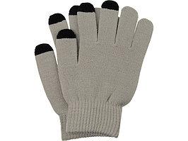 Перчатки для сенсорного экрана, серый, размер S/M (артикул 869508)