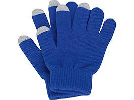 Перчатки для сенсорного экрана, синий, размер S/M (артикул 869512)