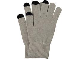 Перчатки для сенсорного экрана, серый, размер L/XL (артикул 869518)