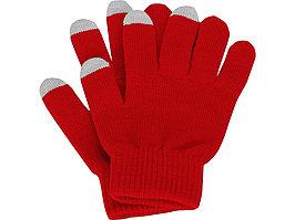 Перчатки для сенсорного экрана, красный, размер L/XL (артикул 869521)