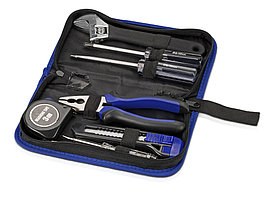 Набор инструментов в чехле,синий (артикул 429502)