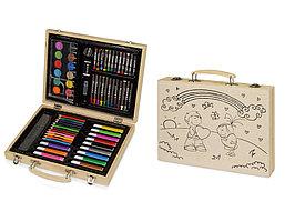 Набор для рисования из 67 предметов в чемодане с рисунком (артикул 10607200.01)