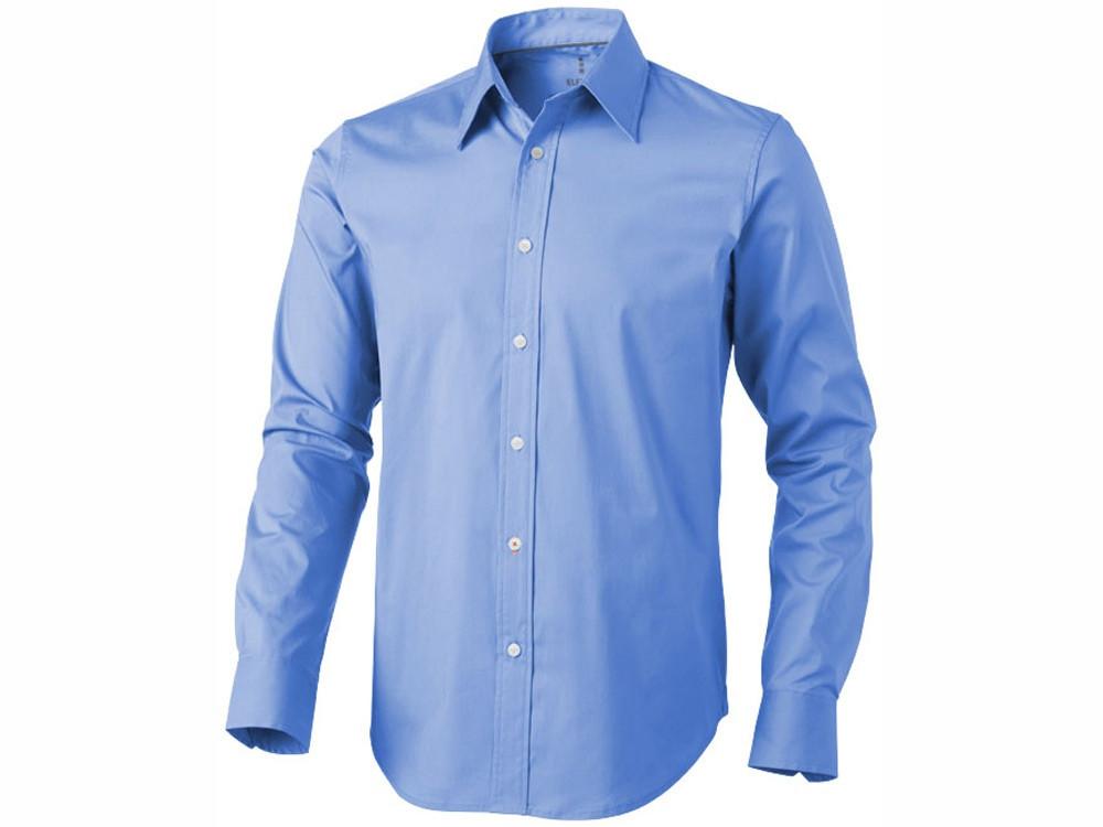 Рубашка Hamilton мужская с длинным рукавом, голубой (артикул 3816440XS)