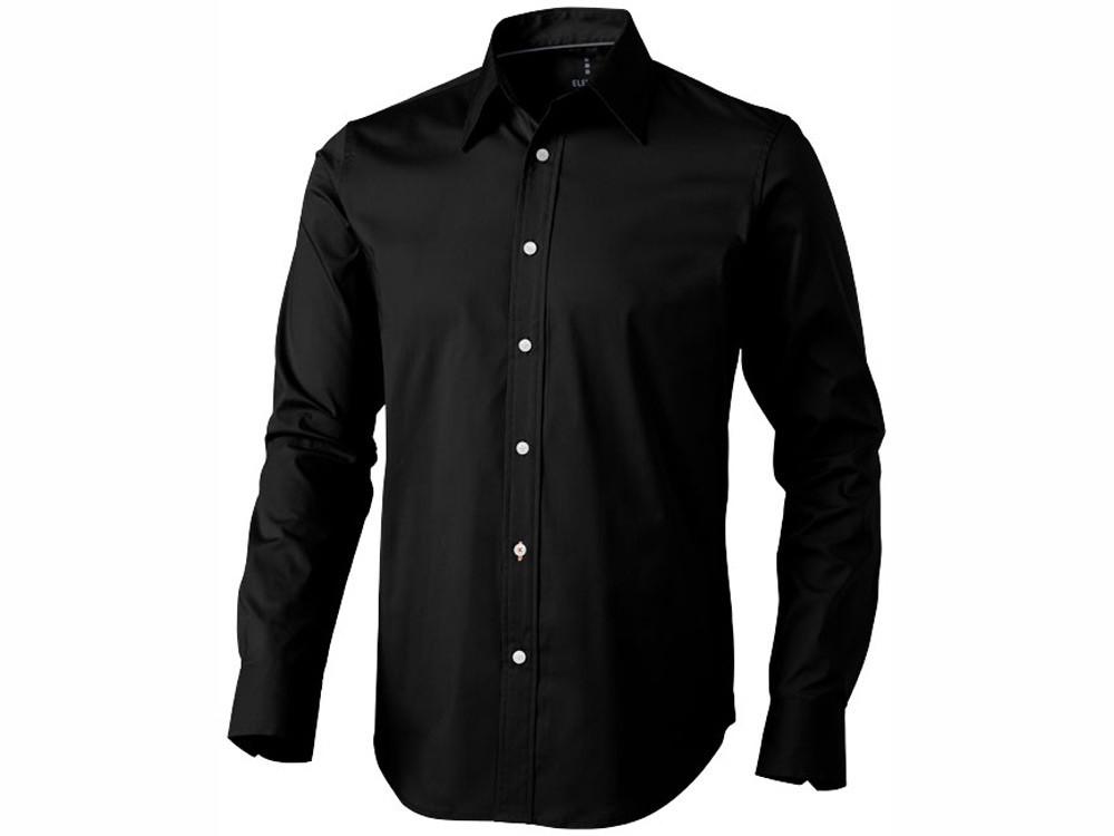 Рубашка Hamilton мужская с длинным рукавом, черный (артикул 38164992XL)