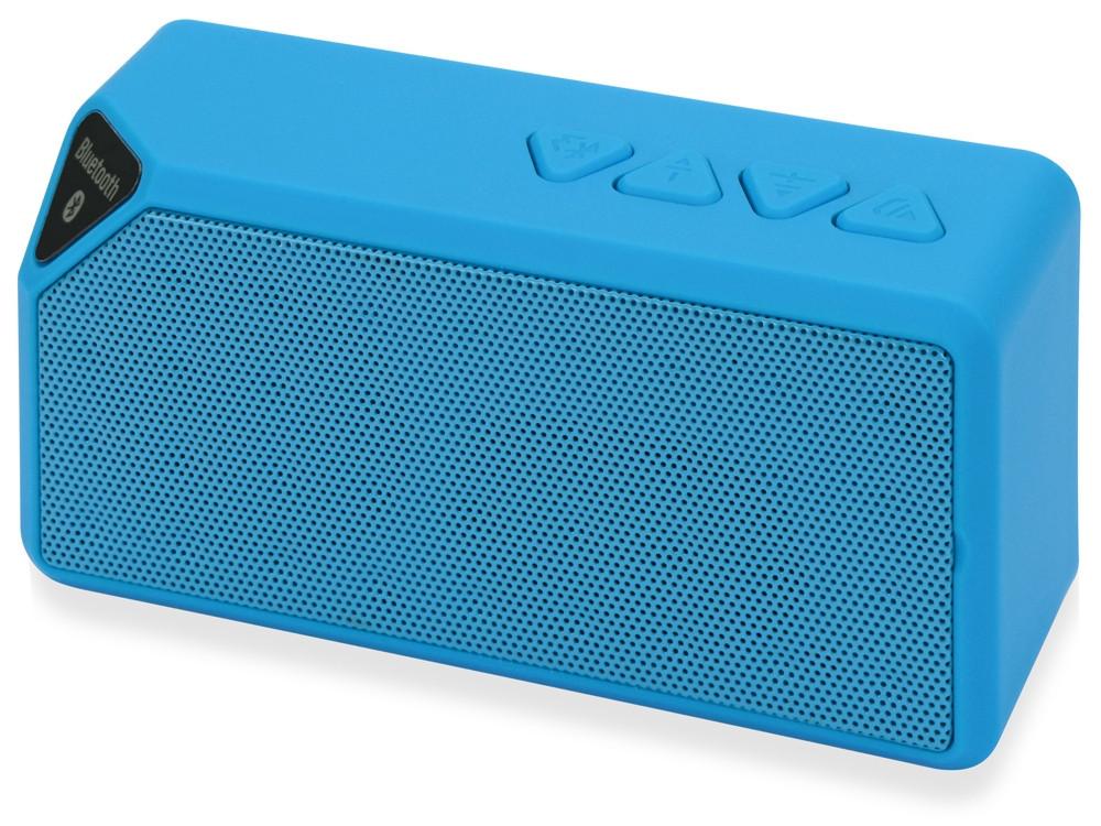 Портативная колонка Bermuda с функцией Bluetooth®, голубой (артикул 975122)