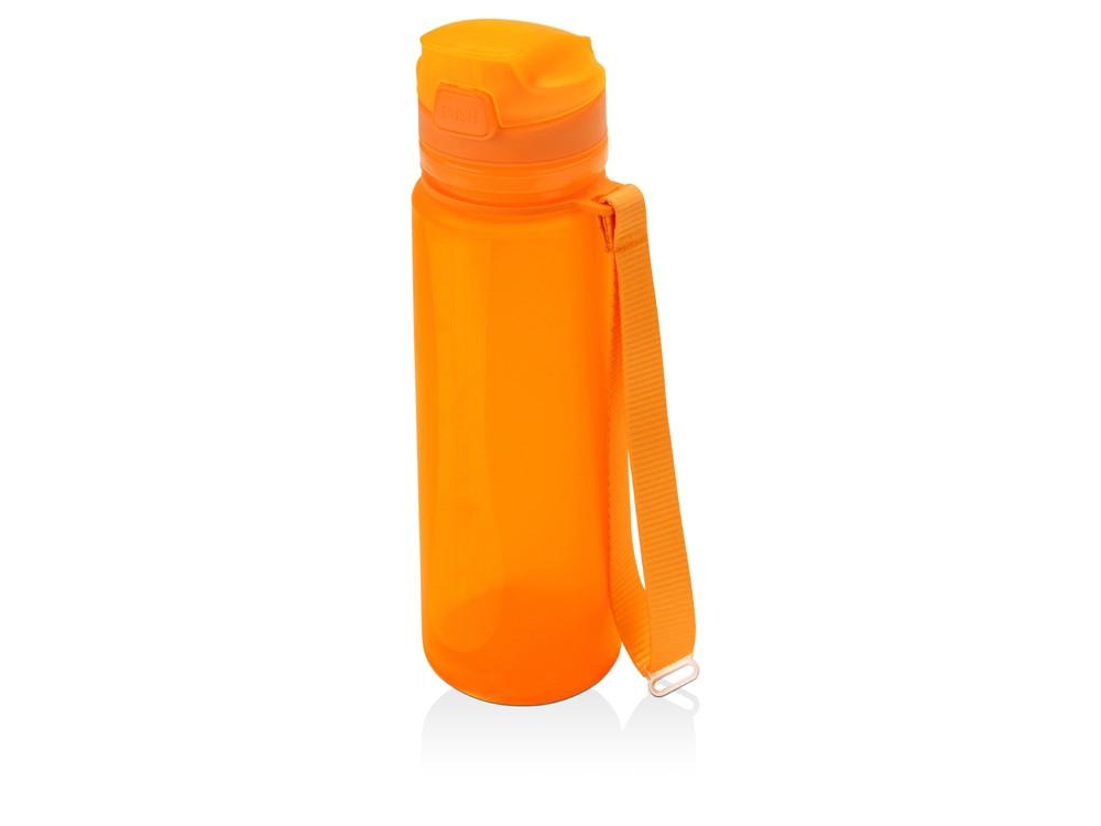Складная бутылка Твист 500мл, оранжевый (артикул 840008)