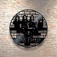 Настенные часы из пластинки Pink Floyd, подарок фанатам, любителям, 0562