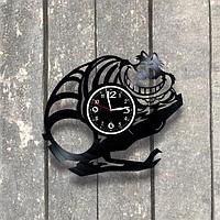 Настенные часы из пластинки Алиса в стране чудес, подарок фанатам, любителям, 0560