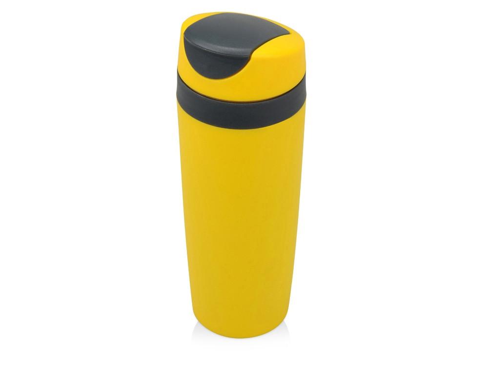 Термокружка Лайт 450мл, желтый (артикул 840304)