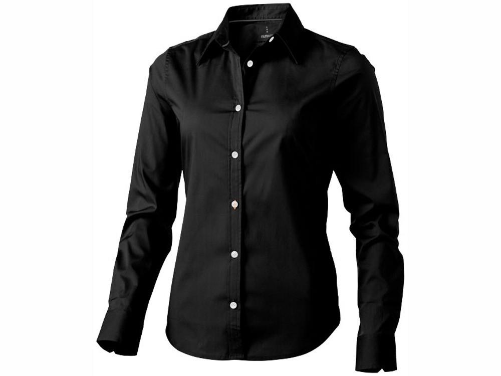 Рубашка Hamilton женская с длинным рукавом, черный (артикул 38165992XL)