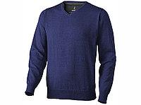 Пуловер Spruce мужской с V-образным вырезом, темно-синий (артикул 3821749S), фото 1