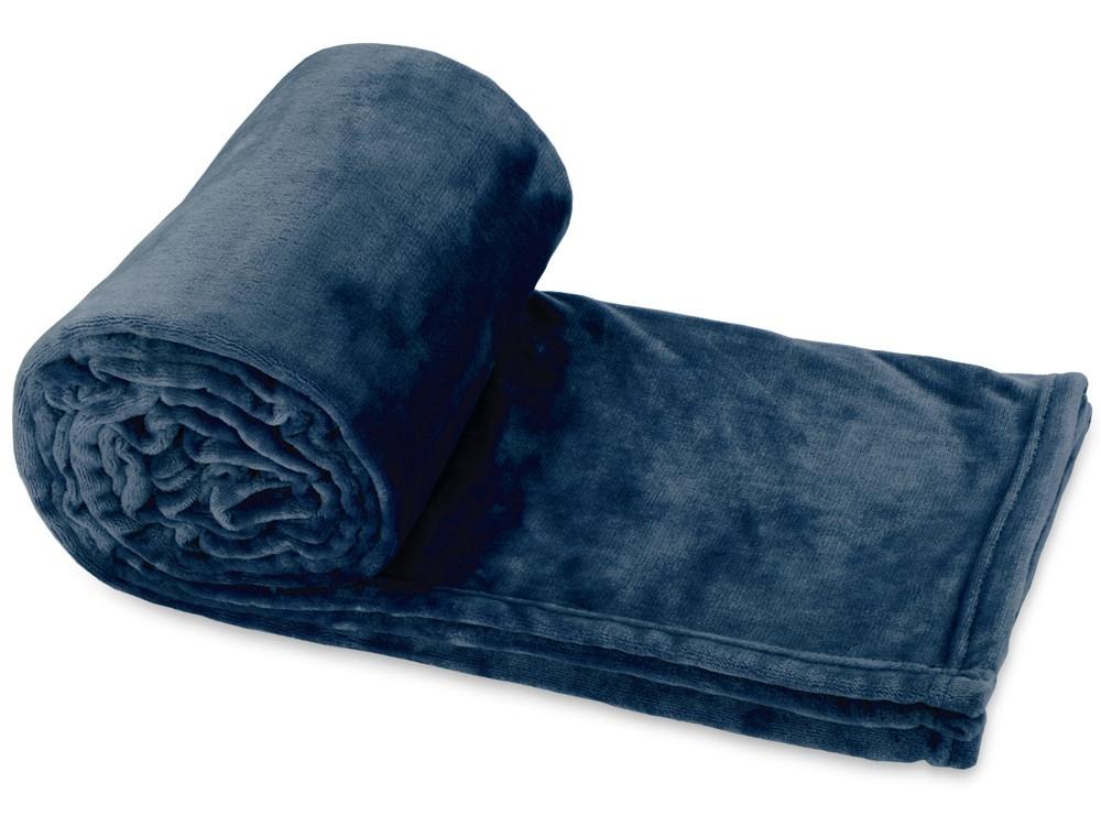 Плед Тедди, темно-синий (артикул 832312)