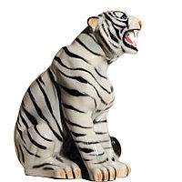 Садовая фигура Тигр, декор, фигурка, скульптура для сада, керамическая, ландшафтная, 52 см