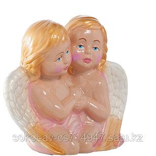 Садовая фигура Ангелы, декор, фигурка, скульптура для сада, керамическая, ландшафтная, 22 см