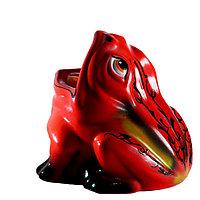 Садовая фигура Лягушка (жаба), декор, фигурка, скульптура для сада, керамическая, ландшафтная, 18*18 см