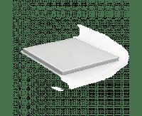 Светильник светодиодный Gauss IP20 595*595*19мм 36W 2760lm 6500K офисный матовый рассеиватель 1/4