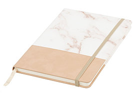 Двухцветная записная книжка A5, коричневый (артикул 10715001)