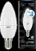 Лампа Gauss LED Candle 7W E14 4100K 103101207-S шаг. Диммирование