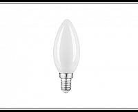 Лампа Gauss Filament Свеча 9W 590lm 3000К Е14 milky диммируемая LED 1/10/50