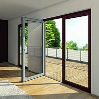 Алюминиевые двери с распашной системой открывания, фото 1