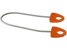 Резинка для занятий йогой Dolphin с ручкой, оранжевый (артикул 12613006)