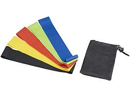 Набор спортивных резинок Crane, черный (артикул 12612800)