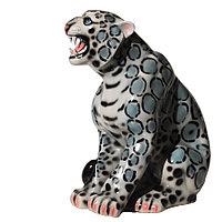 Копилка / статуэтка, керамическая Барс, 52*43*23 см