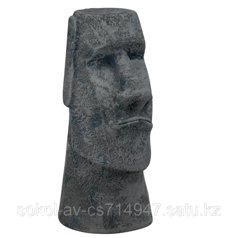 Садовая фигура Истукан Моаи, декор, фигурка, скульптура для сада, керамическая, ландшафтная, 41*18*20 см, 02